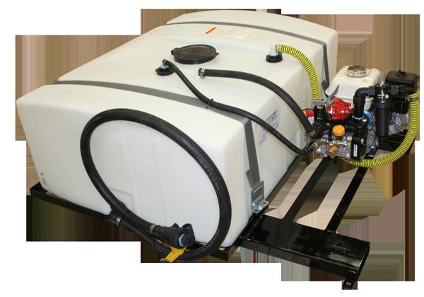 Low Pro Sprayer_110 Gallon Tank with Watering Valve